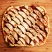 Apple Flame Tart